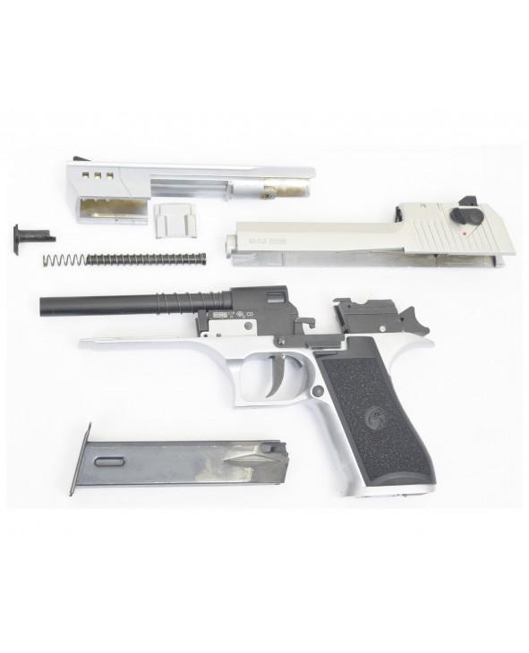 Охолощенный СХП пистолет (Desert) Eagle-СО Kurs (длинный ствол) 10ТК, хром
