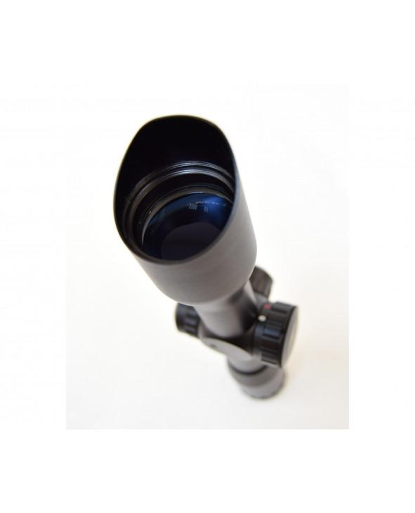 Оптический прицел Leapers 4x32 Compact, кольца на Weaver (SCP-432ML1W)