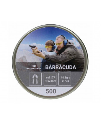 Пули Borner Barracuda 4,5 мм, 0,70 грамм, 500 штук