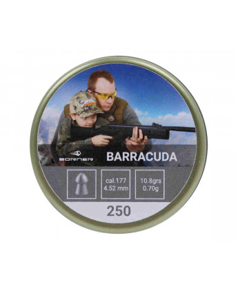 Пули Borner Barracuda 4,5 мм, 0,70 грамм, 250 штук