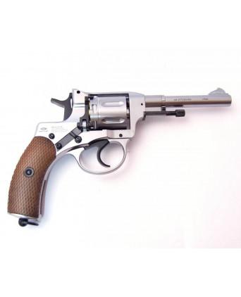 Пневматический револьвер Gletcher NGT (F) Silver (Наган)