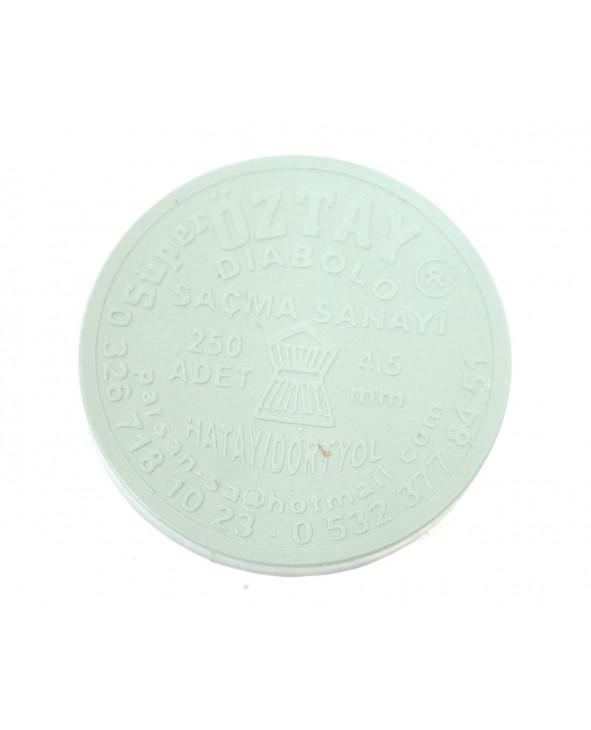Пули Super Oztay Diabolo 4,5 мм, 0,49-0,52 грамм, 250 штук