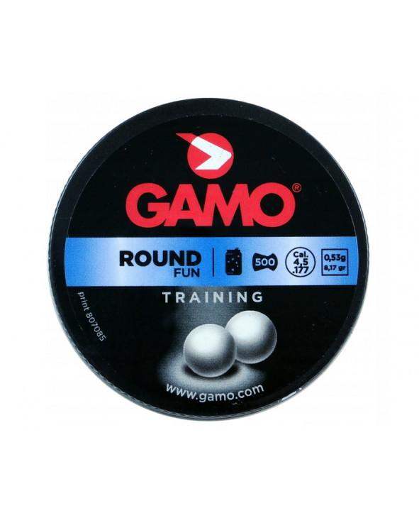 Пули Gamo Round 4,5 мм, 0,53 грамм, 500 штук