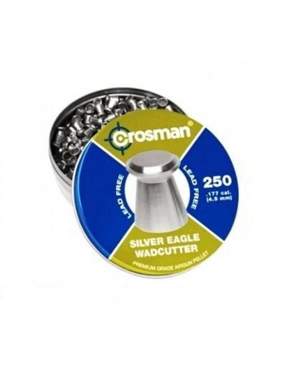 Пули Crosman Silver Eagle WC 4,5 мм, 0,31 грамм, 250 штук