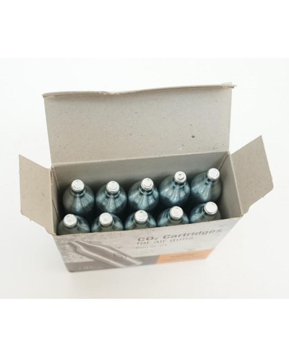 Баллончики CO2 Gletcher, 12 грамм, 10 штук