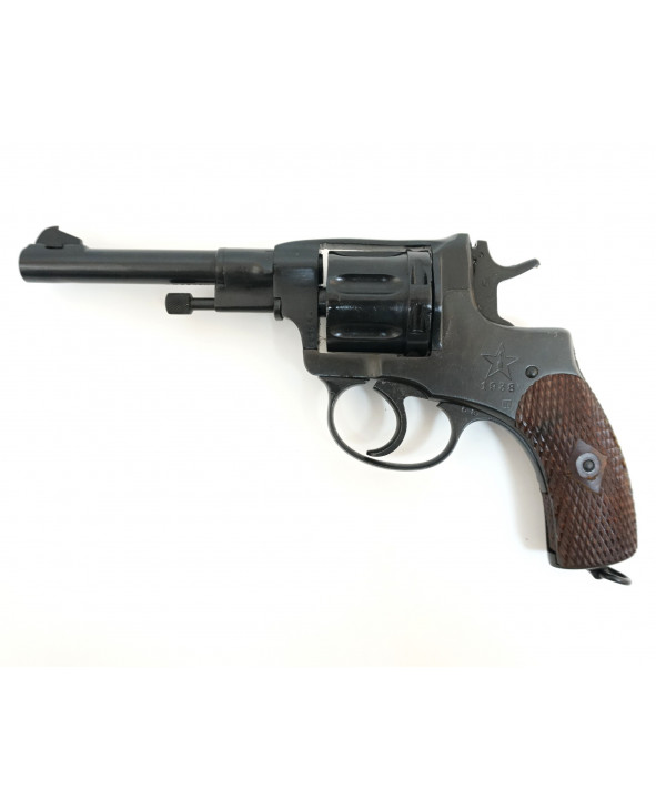 Охолощенный СХП револьвер Наган СО-95/9, 9x19