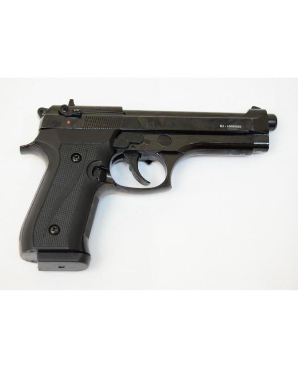 Охолощенный СХП пистолет B92 Kurs (Beretta) 10ТК, черный матовый