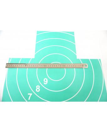 Мишень Remington №4, грудная фигура (500x500 мм)