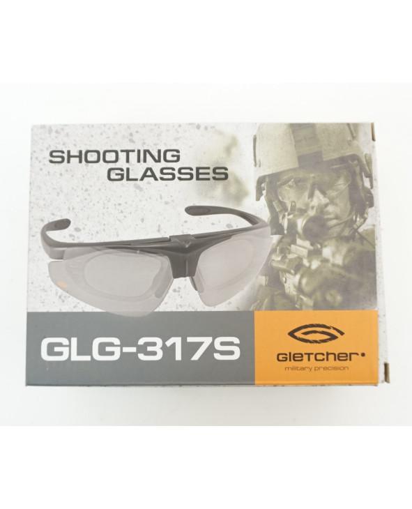 Очки тактические Gletcher GLG-317S, сменные линзы