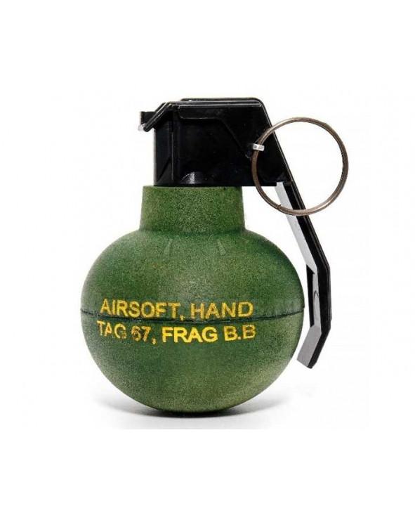 Граната учебная страйкбольная TAG-67 (шары)