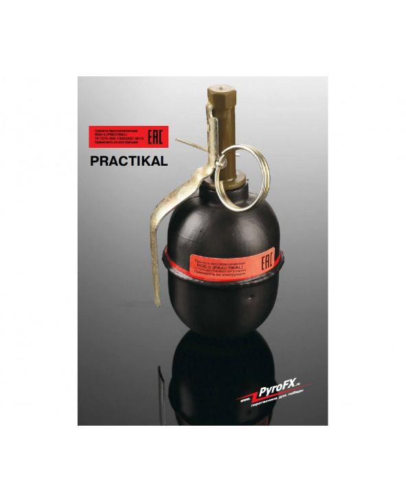 Граната учебно-имитационная PFX RGD-5 Practical (массогабаритная)