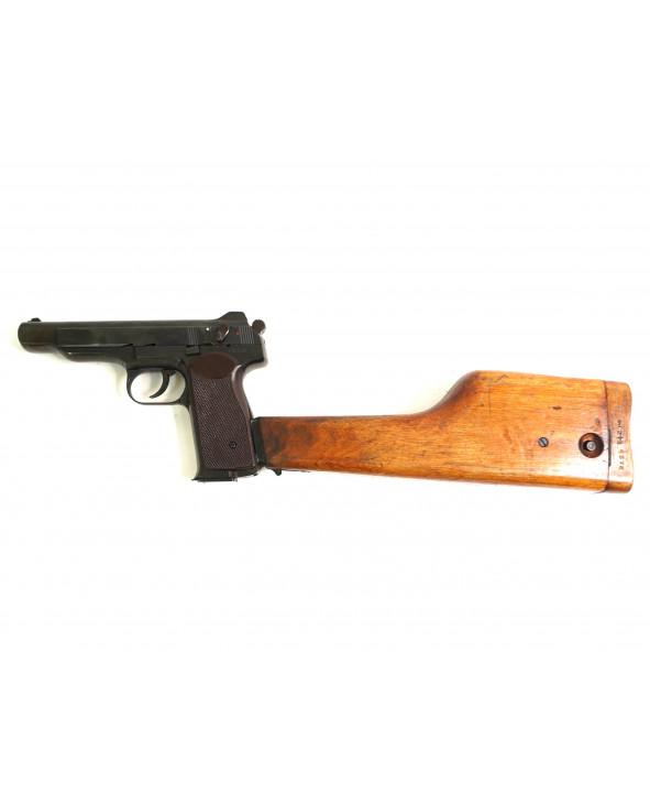 Охолощенный СХП пистолет Стечкина Р-414 (АПС-СХ, с прикладом) 10x24