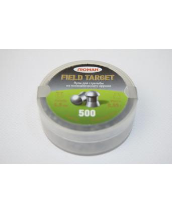 Пули Люман Field Target 4,5 мм, 0,55 грамм, 500 штук