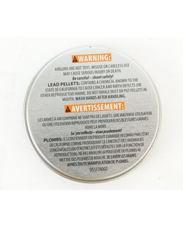 Пули Crosman Wadcutter 4,5 мм, 0,48 грамм, 250 штук