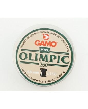 Пули Gamo Olimpic 4,5 мм, 0,49 грамм, 250 штук