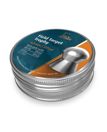 Пули H&N Field Target Trophy 4,5 мм, 0,56 грамм, 500 штук