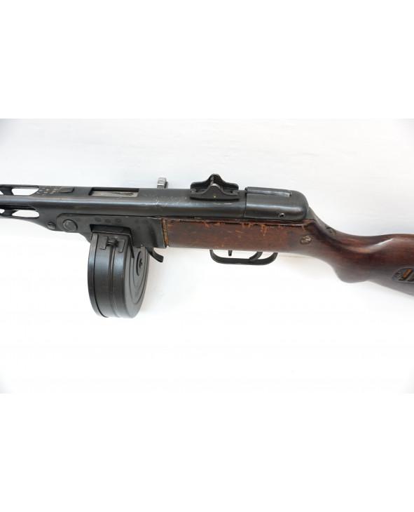 Охолощенный СХП пистолет-пулемет Шпагина ППШ-СХ, 10x31