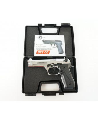 Охолощенный СХП пистолет B92 Kurs (Beretta) 10ТК, хром