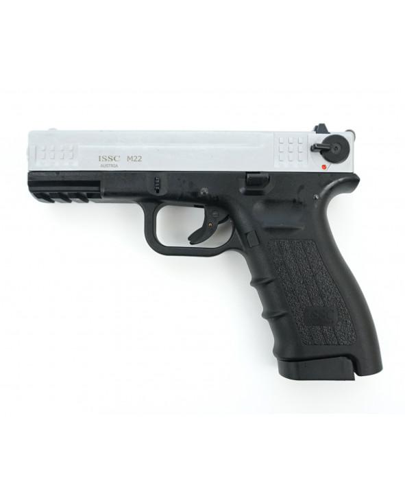 Охолощенный СХП пистолет K17 Kurs (Glock 17) 10ТК, матовый хром