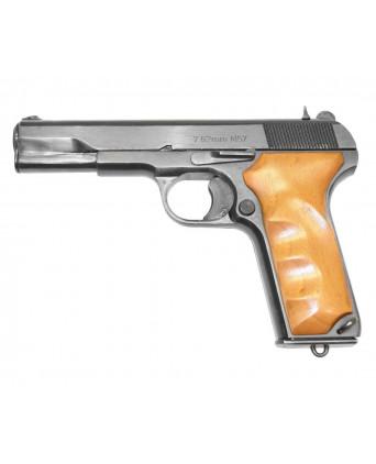 Охолощенный СХП пистолет Tokarev-СО (Zastava M57) 10x31, дерев. накладки