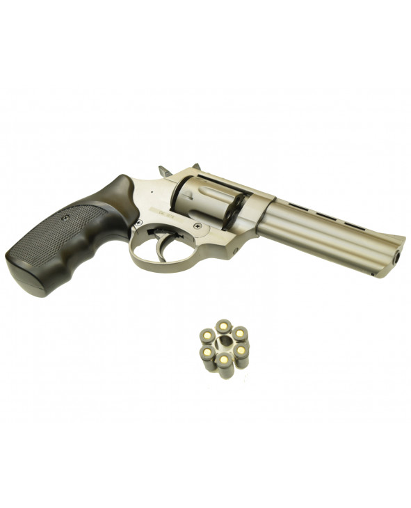 """Охолощенный СХП револьвер Taurus Kurs (4,5"""") 10ТК, фумо/графит"""