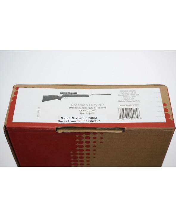 Пневматическая винтовка Crosman Fury NP (прицел 4x32)