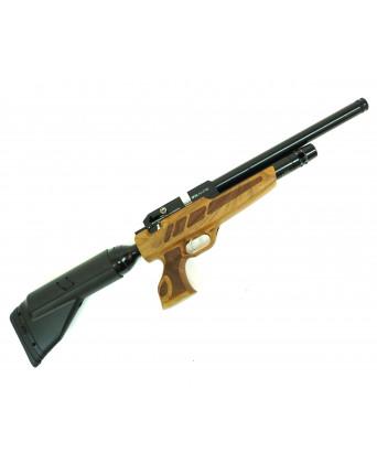 Пневматический пистолет Kral Puncher NP-04 Auto (орех, PCP)