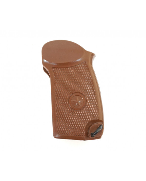 Пластиковая рукоятка коричневая для ПМ, МР-371