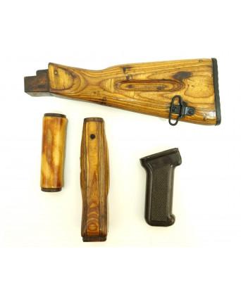 Тюнинг комплект для АК-74, Сайга (дерев. приклад, цевье и накладка, бакелит. рукоять)