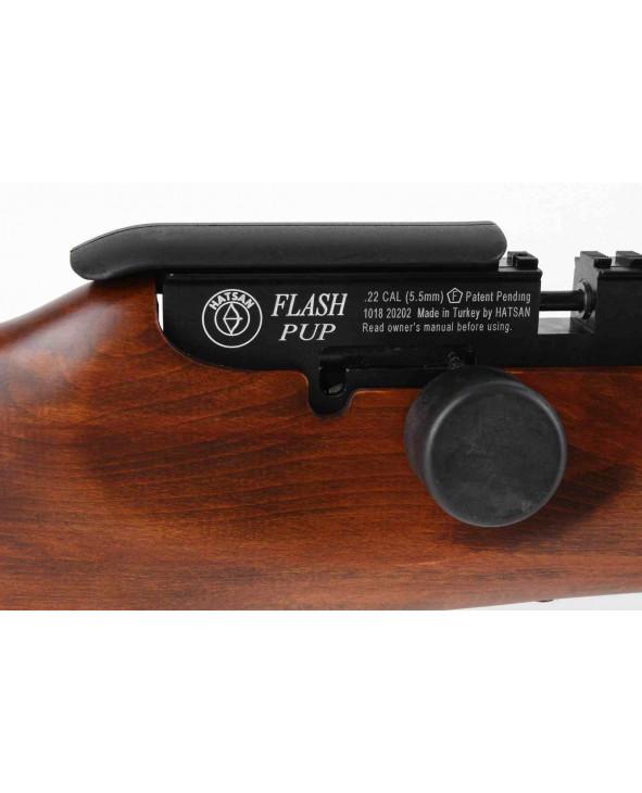 Пневматическая винтовка Hatsan Flashpup-W (дерево, PCP, 3 Дж) 5,5 мм