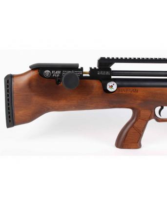 Пневматическая винтовка Hatsan Flashpup-W (дерево, PCP, 3 Дж) 6,35 мм