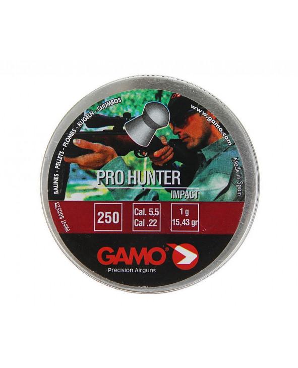 Пули Gamo Pro Hunter 5,5 мм, 1 грамм, 250 штук