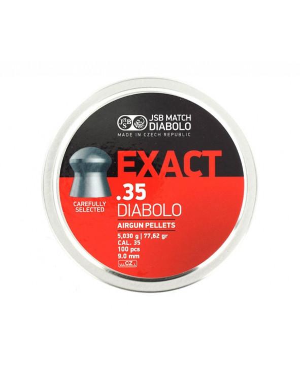Пули JSB Exact Diabolo 9,0 мм, 5,03 грамм, 100 штук