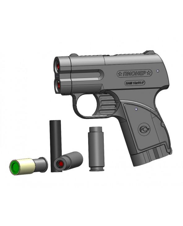 Купить Аэрозольное устройство (пистолет) «Пионер» без ЛЦУ за 3750руб. на gunsleaders!