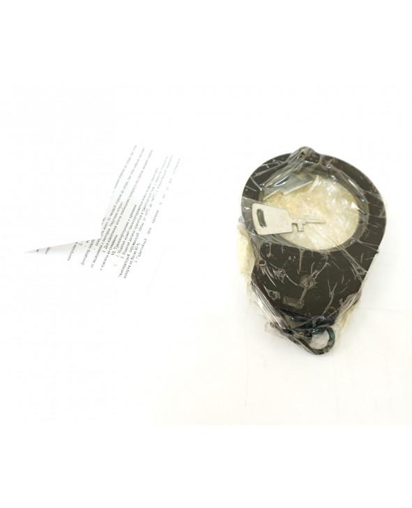 Наручники конвойные с фиксатором БР-1КФ «Краб» (вороненые)