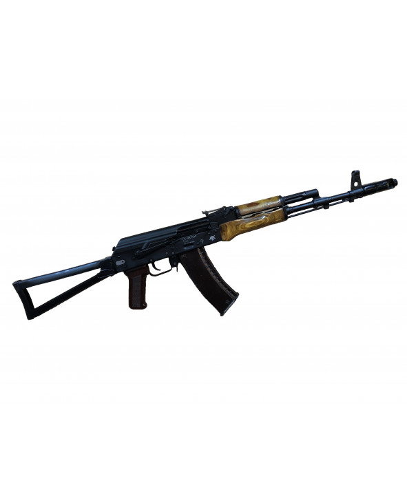 Охолощенный СХП автомат Калашникова СХ-АК-74М (Ижмаш) 5,45x39 (Тюнинг комплект)