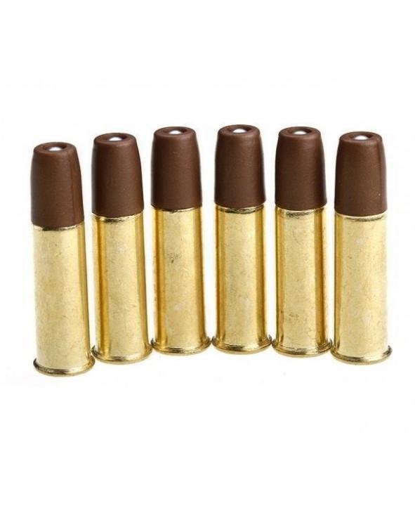 Набор из 6 патронов для револьверов Gletcher CLT