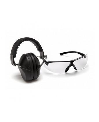 Наушники + защитные очки Venture Gear VGCOMBO 4910