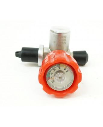 Вентиль для баллона ВД с манометром и клапаном (BH-VP1)