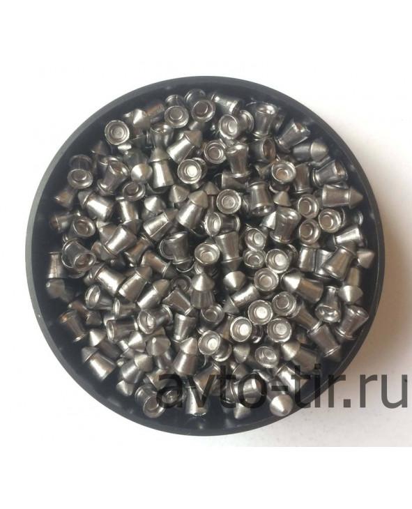 Пули Шмель полумагнум (острые) 4,5 мм, 0,73 г, 400 штук