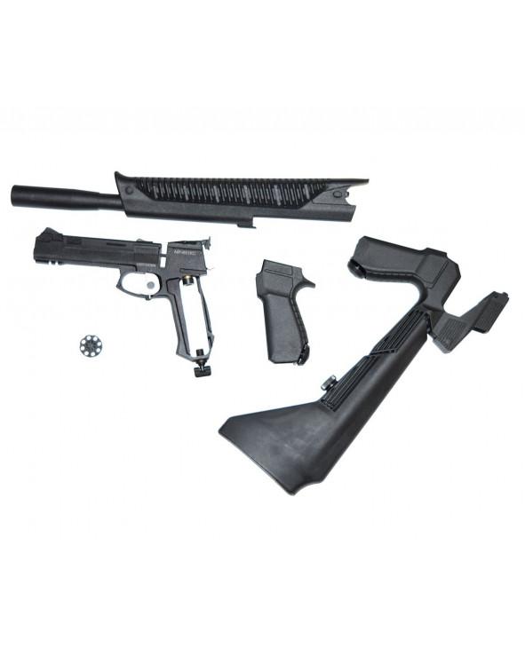 Пневматический пистолет-винтовка МР-651-07 КС (3 Дж)