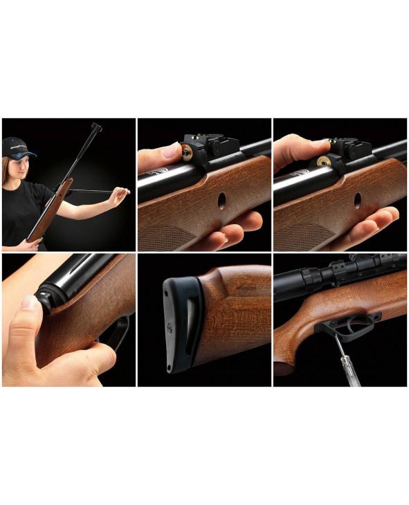 Пневматическая винтовка Stoeger F40 Wood Combo (прицел 3-9x40)