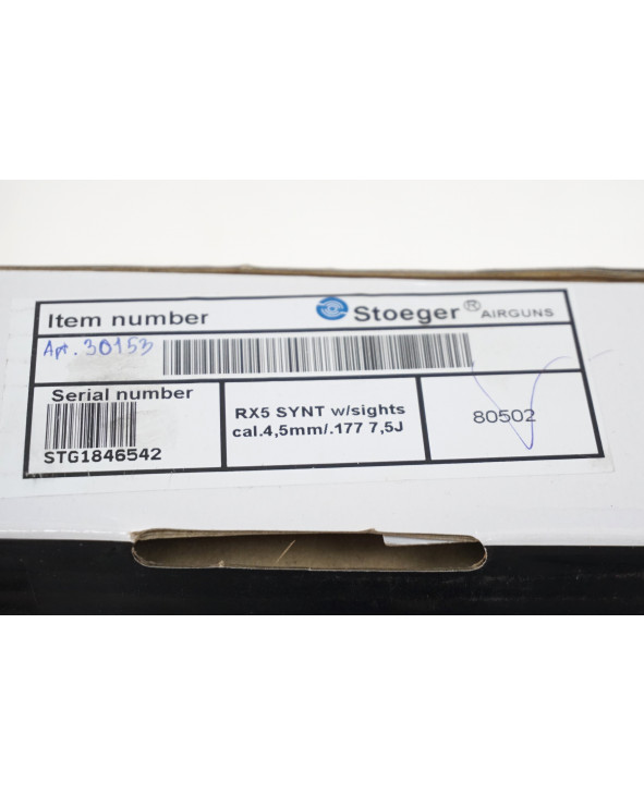 Пневматическая винтовка Stoeger RX5 Synthetic