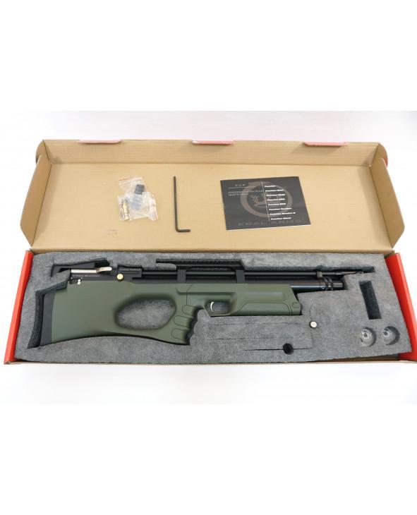Пневматическая винтовка Kral Puncher Breaker Army Green (PCP, 3 Дж) 6,35 мм