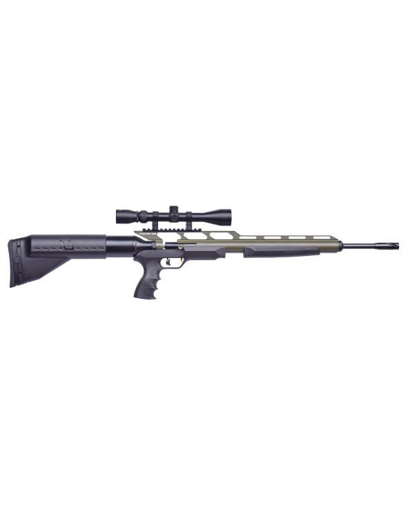 Пневматическая винтовка Kral Puncher One (PCP, прицел) Green