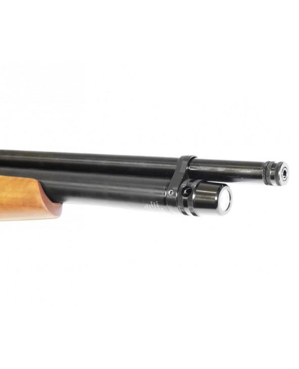 Пневматическая винтовка Kral Puncher Pitbull (орех, PCP, 3 Дж) 6,35 мм