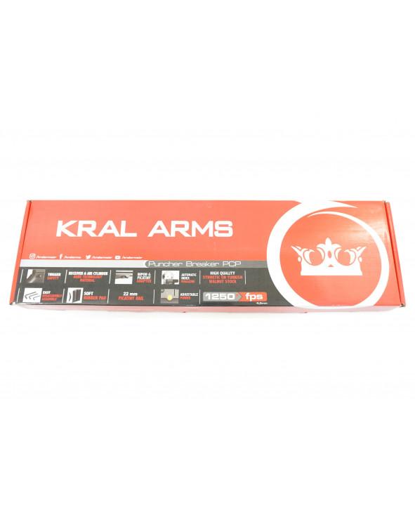 Пневматическая винтовка Kral Puncher Breaker Army Green (PCP, 3 Дж) 5,5 мм