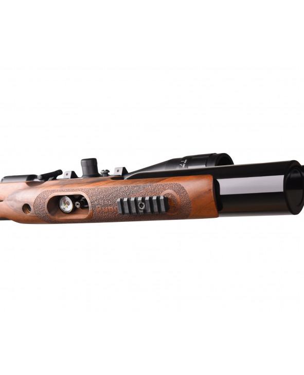 Пневматическая винтовка Kral Puncher Jumbo (орех, PCP, 3 Дж) 5,5 мм