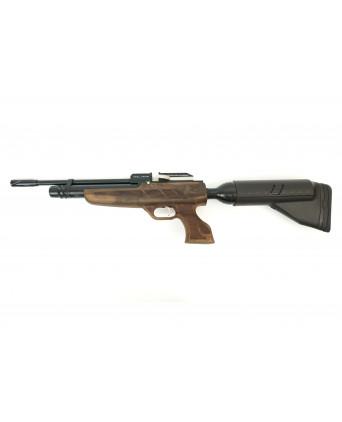 Пневматический пистолет-винтовка Kral Puncher NP-02 (орех, PCP, коллиматор)