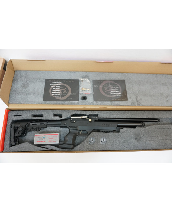 Пневматический пистолет-винтовка Kral Puncher NP-03 (PCP, коллиматор)